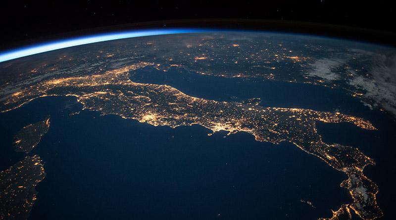 NASA - Italia desde el espacio - Neurona BA