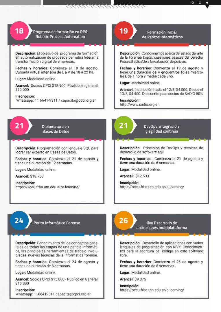 Calendario de cursos en Agosto pag3 - Neurona BA