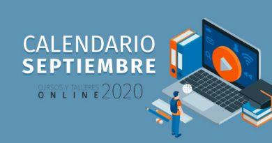Learning - Calendario Septiembre 2020