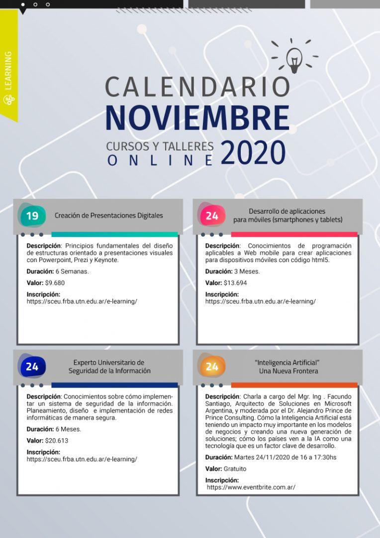 Calendario Noviembre 3