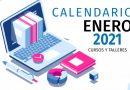 Calendario de cursos y talleres enero/2021
