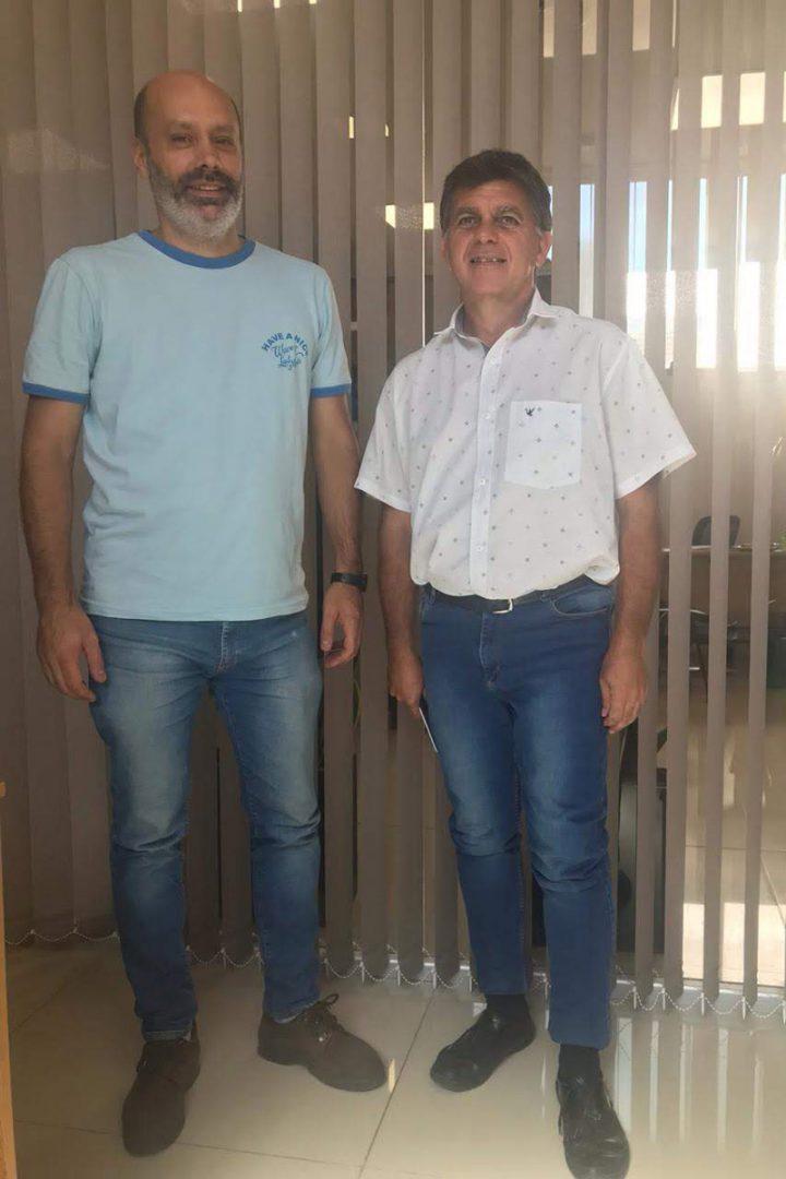 Pablo Piccone y Hugo Schneider