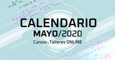 Calendario de cursos en Mayo Flyer - Neurona BA