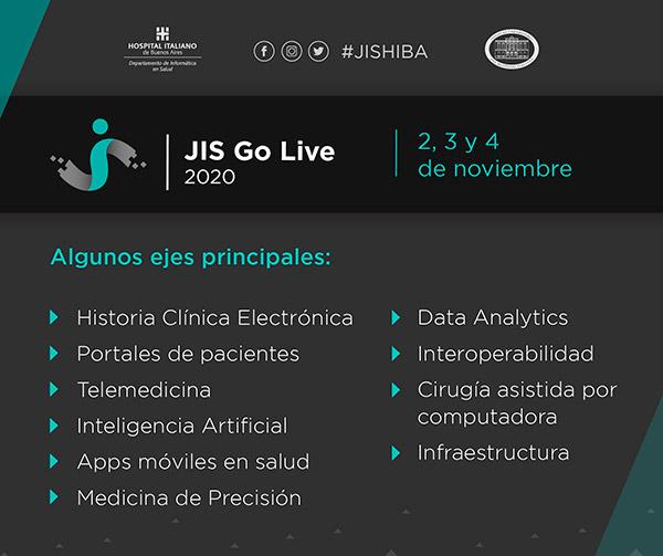 JIS Go Live info