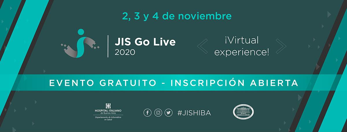 JIS Go Live Banner