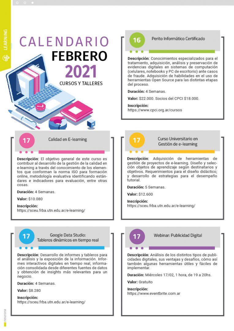 Learning Febrero 2021 - p1