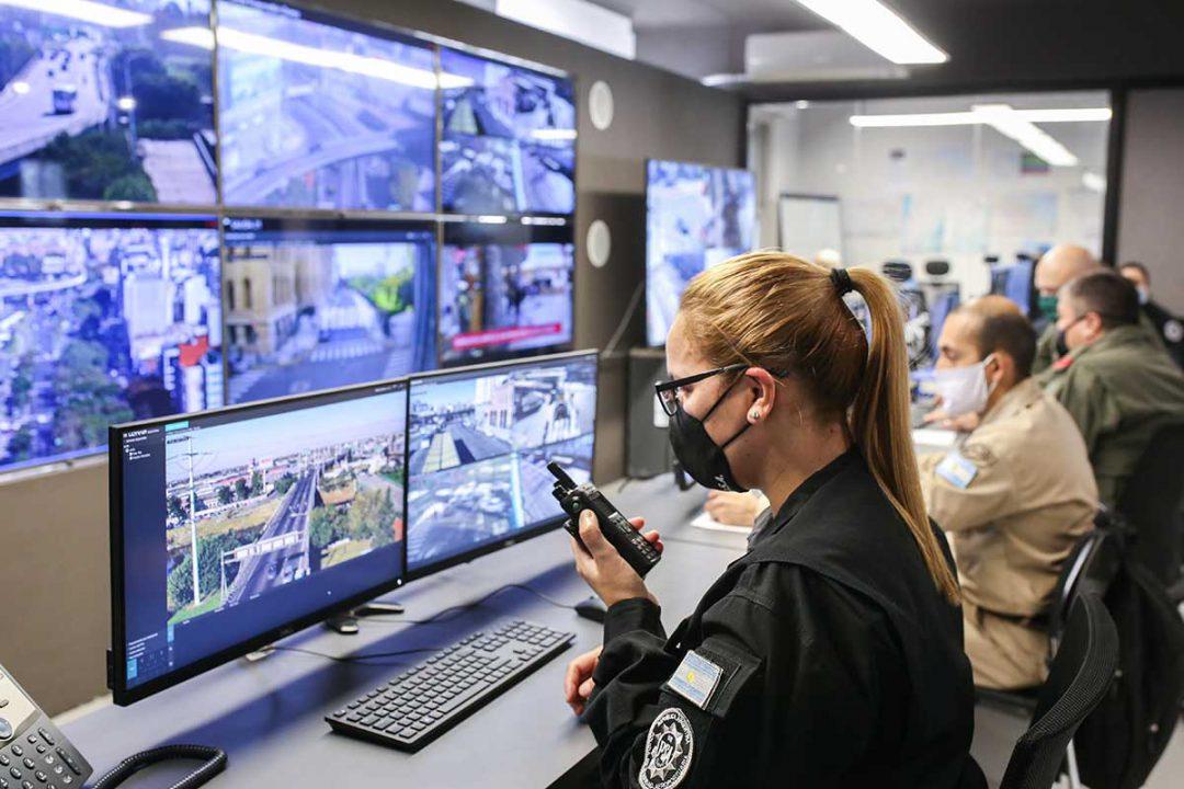 Ministerio de Seguridad - Sala de Situación del Comando Unificado