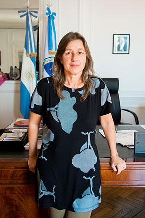 Sabina Frederic - Ministra de Seguridad de la Nación