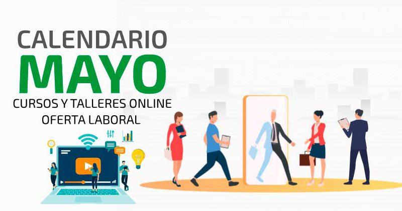 Calendario Cursos y Talleres Mayo 2021- Titulo