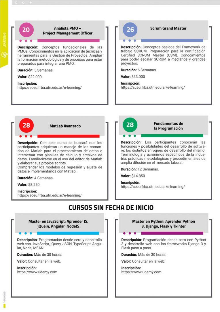 Calendario Cursos y Talleres Mayo 2021 - p2