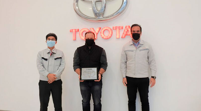 Mirgor premio Toyota Argentina