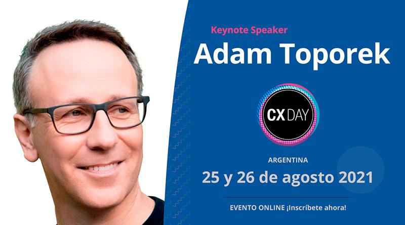 Adam Toporek - CX Day